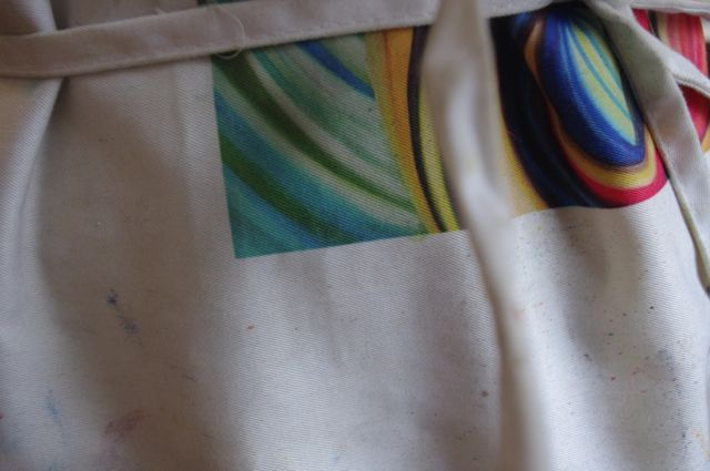 My painting apron.