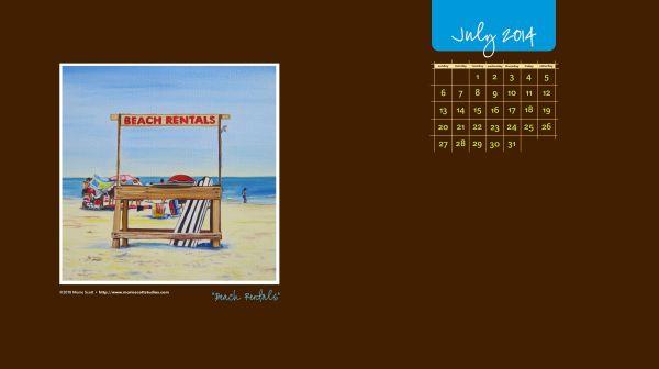BEACH RENTALS • ©2010 Marie Scott